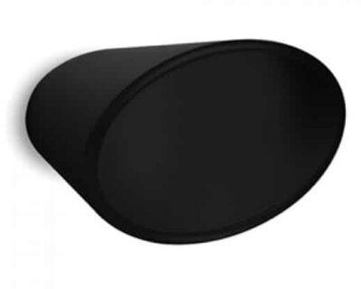 Μπουλ Εξώπορτας Convex 479 Ματ Μαύρο