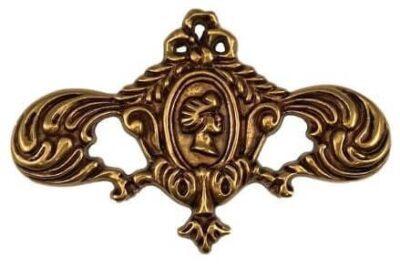 Διακοσμητική Ροζέτα Επίπλων Besana 6704 Χρύσο με Πατίνα AVO