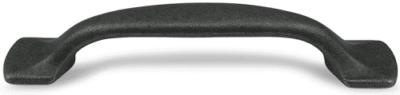 Λαβή Επίπλων Gem MZ 1250 Μαύρος Ψευδάργυρος